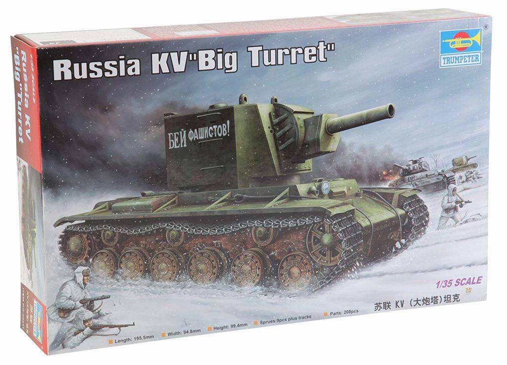 Trumpeter Tanque KV-2