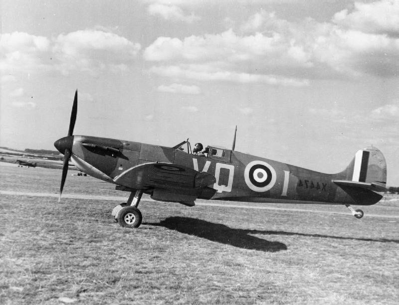 avión spitfire, avion supermarine ,spitfire, motor spitfire
