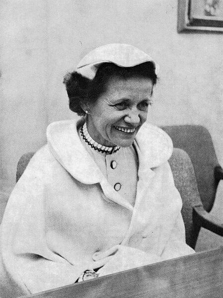 Foto del año 1961 de Hanna Reitsch