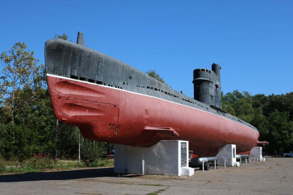 Foto de un modelo de m-296 en Odessa