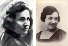 Retratos de María Oktiábrskaya en blanco y negro