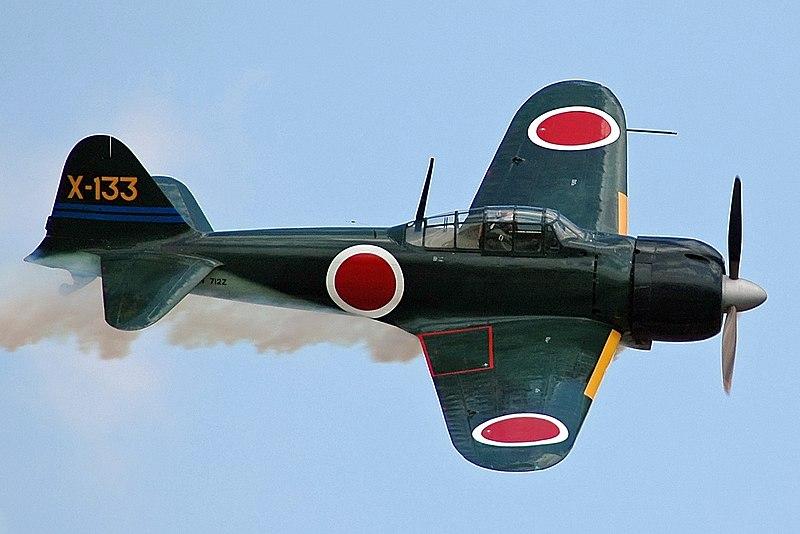 avion zero, mitsubishi aviones japoneses, mitsubishi am6 zero