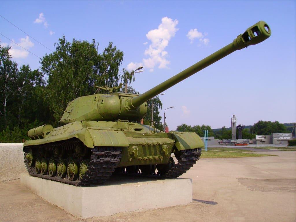 Is 2 tanque expuesto en un parque
