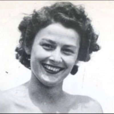 Retrato de la heroína de guerra Violette Szabo