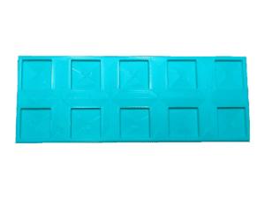 peana personalizada impresa en 3d para wargames para 10 miniaturas de peana 20 x 20 mm