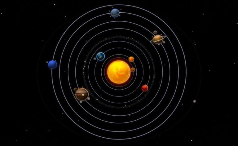referencia del sistema solar