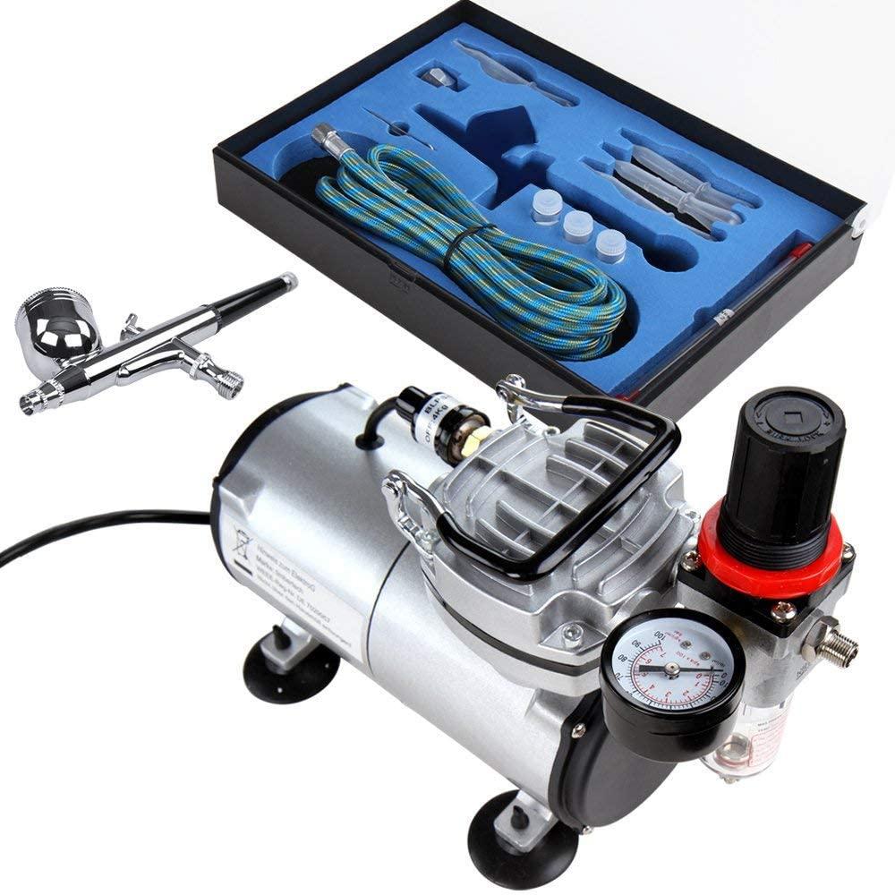 compresor aire barato, aerografo kit, compresor de aire barato