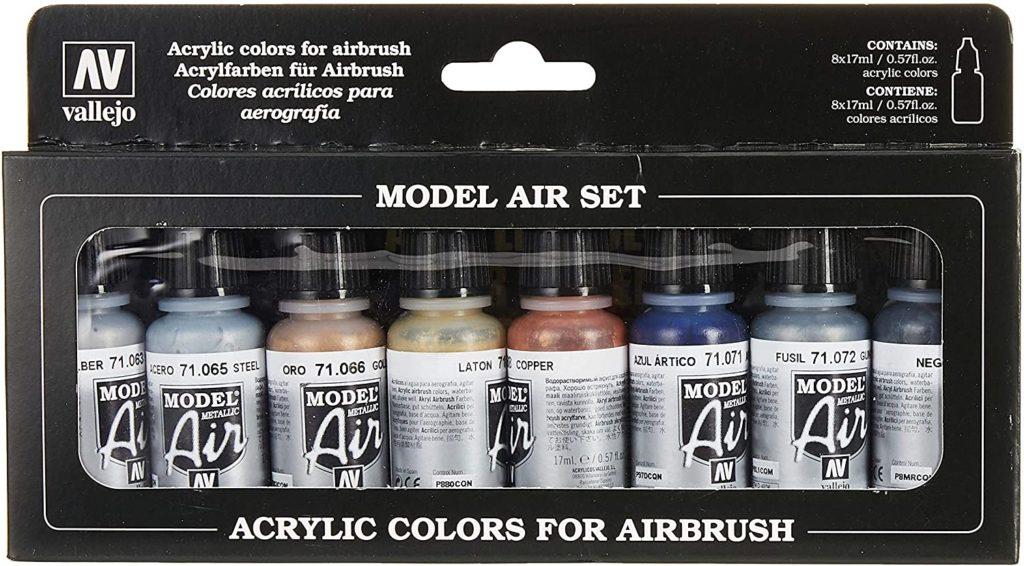 kit de pinturas acrilicas, pinturas vallejo para aerografo, pinturas vallejo aerografo