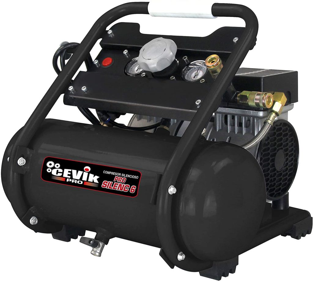 compresor de aire 6 litros