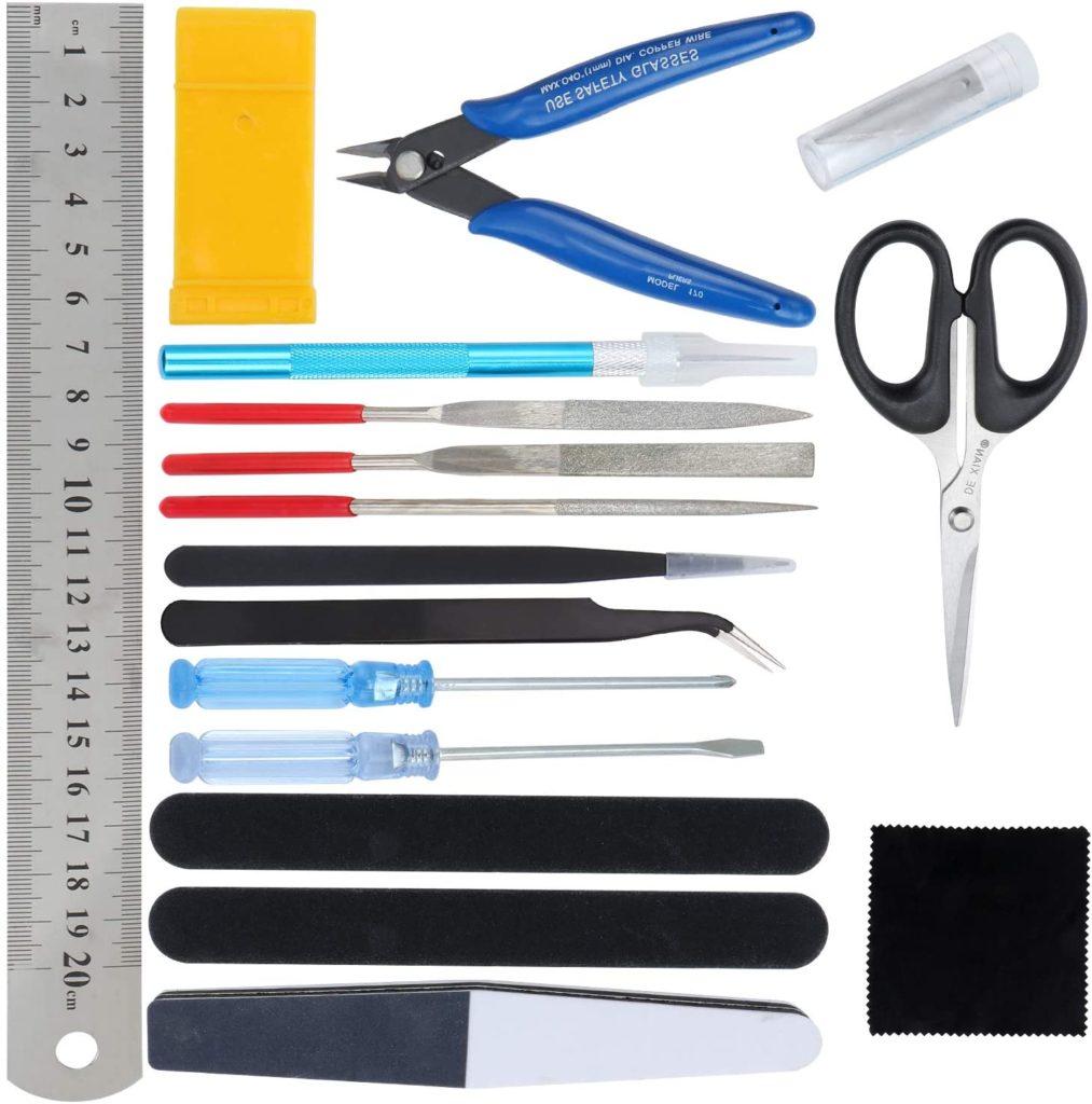 herramientas para maquetas de madera, alambre para artesanías, kit herramientas basicas