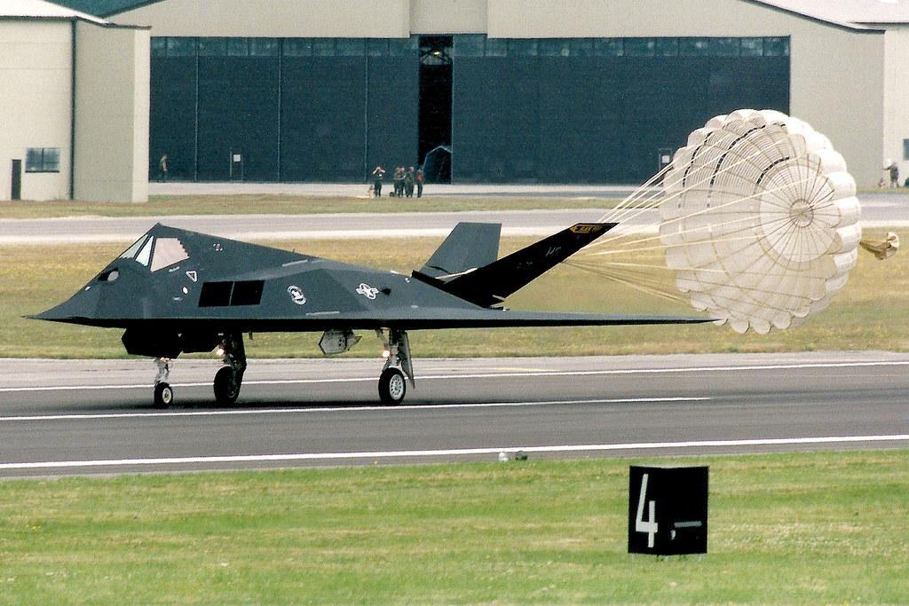 aviones stealth, avion nighthawk, indetectable