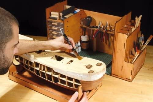 caja para guardar herramientas, caja de herramientas taller, herramientas modelismo