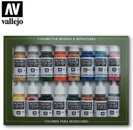 pack pinturas vallejo, pinturas acrilicas vallejo, kit pinturas vallejo