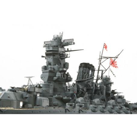 maqueta del yamato, yamato barco maqueta