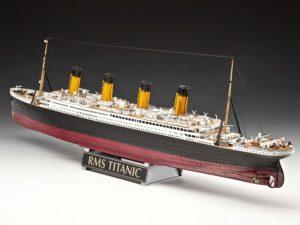 maqueta titanic revell