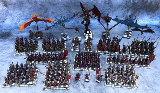ejército elfos nobles 9th age