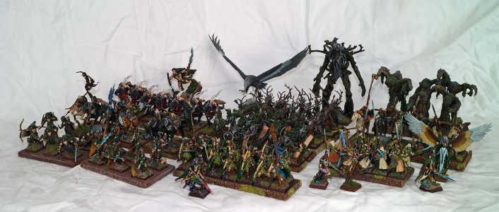 ejército elfos silvanos novena edad