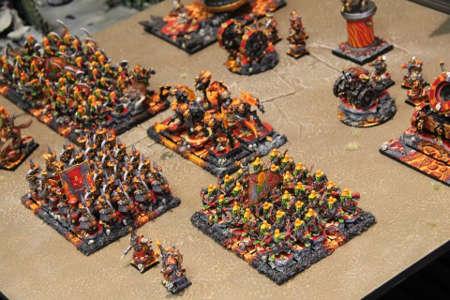 ejército de enanos infernales 9th age