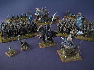 ejército guerreros del caos novena edad