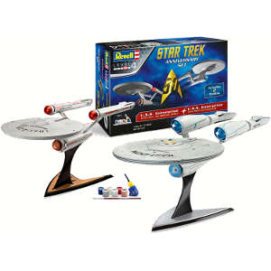 maqueta uss enterprise revell
