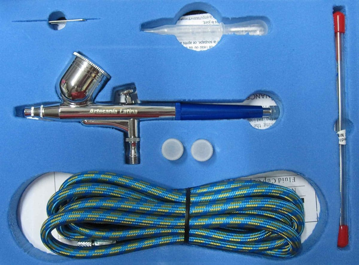 aerógrafo artesanía latina