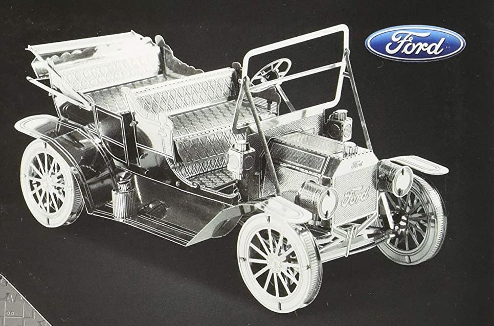 maqueta ford t 1908 de metal earth